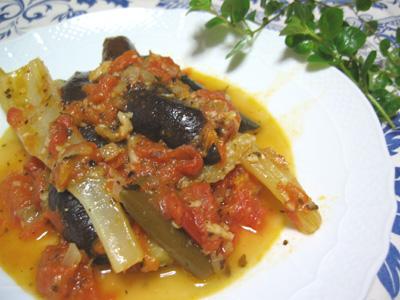 南仏風夏野菜のトマト煮