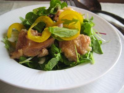 鶏肉のライムマリネサラダ